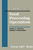 Computerized food processing operations.