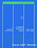 Terminology of water supply and environmental sanitation. Terminologie de l'approvisionnement en eau et de l'assainissement du milieu. Anglais-Français, Français-Anglais