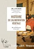 Histoire de l'alimentation végétale