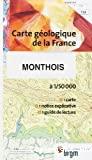 Carte géologique de la France à 1/50 000 . 107, Craonne