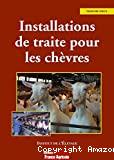 Installations de traite pour les chèvres
