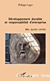 Développement durable et responsabilité d'entreprise