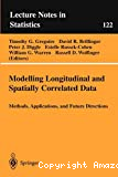 Modeling longitudinal and spatially correlated data . Methods, applications, and future directions.