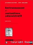 Environnement et contentieux administratif