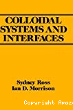 Colloïdal systems and interfaces.