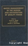 Water management in the design and distribution of quality foods ISOPOW 7 - 7th international symposium on the properties of water in foods (30/05/1998 - 04/06/1998, Helsinki, Finlande).