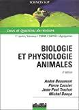 Biologie et physiologie animale