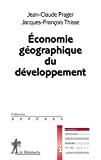 Economie géographique du développement