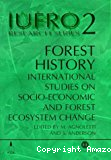 Forest history : international studies on socio-economic and forest ecosystem change. Report 2 of the IUFRO task force on environmental change.