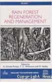 Rain forest regeneration and management