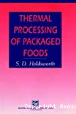 Thermal processing of packaged foods.