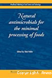 Natural antimicrobials for the minimal processing of foods.