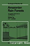 Amazonian rain forests : ecosystem disturbance and recovery, case studies of ecosystem dynamics under a spectrum of land use-intensities