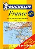Atlas routier et touristique, France. Echelle 1:200 000 (1 cm = 2 km)
