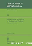 Mathematical Modelling in Biology and Ecology
