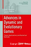 Advances in dynamic and evolutionary games