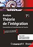 Analyse théorie de l'intégration