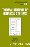 Thermal behavior of dispersed systems.