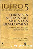 Forests in sustainable mountain development : a state of knowledge report for 2000.
