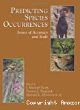 Predicting species occurrences : issues of accuracy and scale.