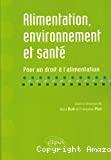 Alimentation, environnement et santé