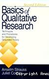Basics of qualitative research