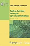 Analyse statistique des risques agro-environnementaux