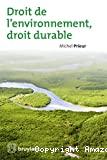 Droit de l'environnement, droit durable