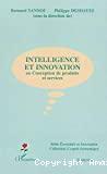 Intelligence et innovation en conception de produits et services.