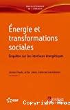 Énergie et transformations sociales