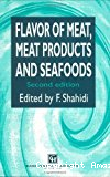 Flavor of meat, meat products and seafoods.