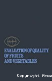 Evaluation of quality of fruits and vegetables.