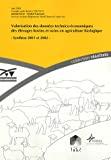 Valorisation des données technico-économiques des élevages bovins et ovins en agriculture biologique