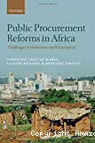 Public Procurement Reforms in Africa