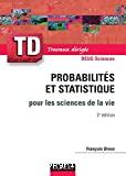 Probabilités et statistique pour les sciences de la vie