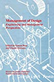 Management of design. Engineering and management perspectives.