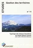 Typologie des stations forestières du massif Sainte Victoire