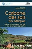 Carbone des sols en Afrique