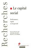 Le capital social- Performance, équité et réciprocité