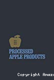 Processed apple products.