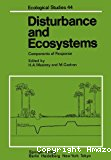 Disturbance and ecosystems. Components of response.; godron, m.