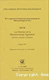 Les données de la phytosociologie sigmatiste