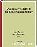 Quantitative methods for conservation biology.