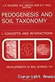 Pedogenesis and soil taxonomy