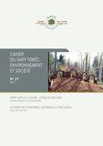 Cahier du GHFF Forêt, environnement et société n°27
