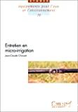 Entretien en micro-irrigation
