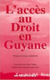 L'accès au droit en Guyane