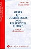 Gérer les compétences dans les Services Publics