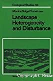 Landscae heterogeneity and disturbance