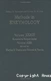 Methods in enzymology. Vol. 33 : Cumulative index volumes 1-30.